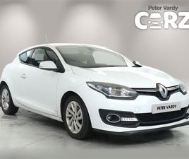 USED 2015 RENAULT MEGANE 1.5 DCI DYNAMIQUE TOMTOM ENERGY 3DR COUPE 52,000 MILES IN WHITE F