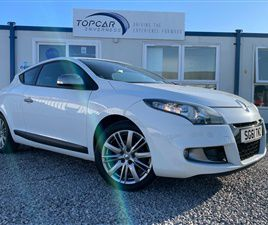 USED 2011 RENAULT MEGANE 1.4 GT LINE TOMTOM TCE 3D 130 BHP COUPE 75,877 MILES IN WHITE FOR