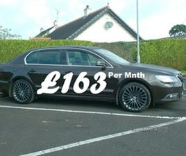 USED 2013 SKODA SUPERB 2.0 TDI CR 140 LAURIN + KLEMENT 5DR DSG SALOON 74,000 MILES IN BROW