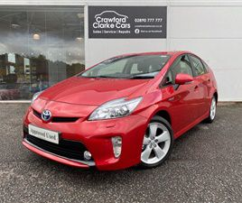 USED 2015 TOYOTA PRIUS 1.8 T SPIRIT VVT-I 5D AUTO 99 BHP HATCHBACK 28,408 MILES IN RED FOR