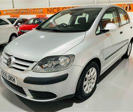 USED 2005 VOLKSWAGEN GOLF PLUS 1.6 SE FSI 5DR AUTO, AIR CON, CRUISE, ONLY 3 OWNERS, ONLY 5