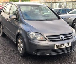 USED 2007 VOLKSWAGEN GOLF PLUS 1.9 TDI PD SE DSG 5DR HATCHBACK 119,200 MILES IN GREY FOR S