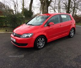 USED 2010 VOLKSWAGEN GOLF PLUS SE TDI HATCHBACK 94,000 MILES IN RED FOR SALE | CARSITE