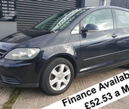 USED 2007 VOLKSWAGEN GOLF PLUS TDI SE 1.9 NOT SPECIFIED 133,493 MILES IN BLACK FOR SALE |