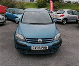 USED 2006 VOLKSWAGEN GOLF PLUS TDI S 1.9 NOT SPECIFIED 114,500 MILES IN BLUE FOR SALE | CA
