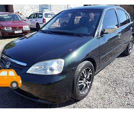 HONDA CIVIC 1.7 LX 16V GASOLINA 4P MANUAL - R$ 21.000,00