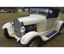 FOR SALE: 1929 FORD ROADSTER IN CADILLAC, MICHIGAN