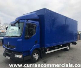 2013 RENAULT MIDLUM 1807.5T 22FT GRP BOX FOR SALE IN ARMAGH FOR €1 ON DONEDEAL