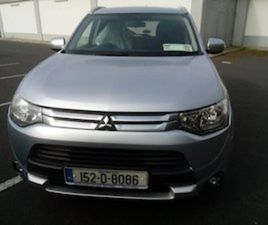 MITSUBISHI OUTLANDER VAT RECEIPT AND WARRANTY FOR SALE IN TIPPERARY FOR €11500 ON DONEDEAL