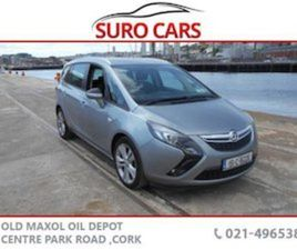 OPEL ZAFIRA TOURER 2.0CDTI 16V SRI 130PS FOR SALE IN CORK FOR €11990 ON DONEDEAL