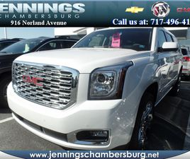 BRAND NEW WHITE COLOR 2019 GMC YUKON XL DENALI FOR SALE IN CHAMBERSBURG, PA 17201. VIN IS