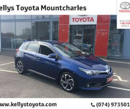 TOYOTA AURIS AURIS 1.4D-4D SOL FOR SALE IN DONEGAL FOR €17450 ON DONEDEAL