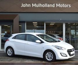 HYUNDAI I30 1.6 CRDI SE 5 DOOR (ONLY 21 352 MILES FOR SALE IN ANTRIM FOR £8985 ON DONEDEAL