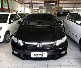HONDA CIVIC 1.8 EXS 16V FLEX 4P AUTOMÁTICO - R$ 51.990,00