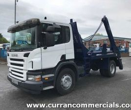 06 SCANIA P230 4X2 18 TON TELESCOPIC SKIP LOADER FOR SALE IN ARMAGH FOR €1 ON DONEDEAL