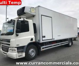2010 DAF CF 65 220 18 TON FRIDGE WITH TAIL LIFT FOR SALE IN ARMAGH FOR €1 ON DONEDEAL