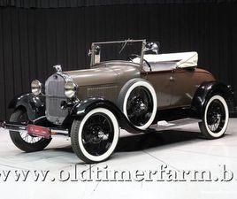 MODEL A ROADSTER '29