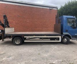 DAF 45/140 2009 FLATBED REAR CRANE FOR SALE IN DOWN FOR € ON DONEDEAL