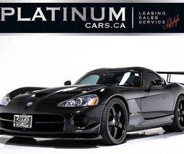 USED 2008 DODGE VIPER SRT-10 ACR EDITION, 600HP V10, PUSH START, LEATHER