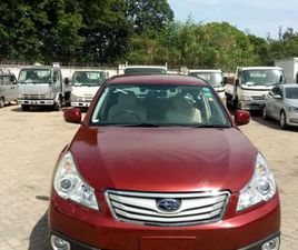SUBARU OUTBACK 2012 2.5I LIMITED RED