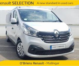 RENAULT TRAFIC CAMPER VAN FOR SALE IN WESTMEATH FOR €59500 ON DONEDEAL