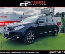 NISSAN QASHQAI +2 N-TEC GLASS ROOF NEW NCT PRI FOR SALE IN DUBLIN FOR €12900 ON DONEDEAL