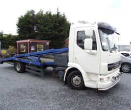 DAF 45LF 2 CAR RECOVERY / HYDRAULIC RAMPS FOR SALE IN DUBLIN FOR €12950 ON DONEDEAL