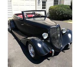 FOR SALE: 1934 FORD CABRIOLET IN STRATFORD, NEW JERSEY