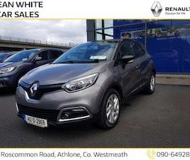 RENAULT CAPTUR 1.5 DCI 90 INTENSE DCI FOR SALE IN WESTMEATH FOR €12750 ON DONEDEAL