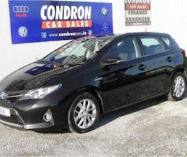 TOYOTA AURIS 1.8 VVTI HYBIRD ICON ( 141 REG ) FOR SALE IN CARLOW FOR €13600 ON DONEDEAL