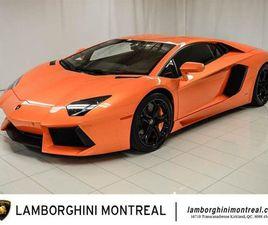 LAMBORGHINI AVENTADOR LP700-4 2015 #C0315