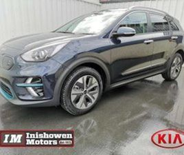 KIA NIRO E-NIRO FULLY ELECTRIC RANGE 475KM FOR SALE IN DONEGAL FOR €39235 ON DONEDEAL