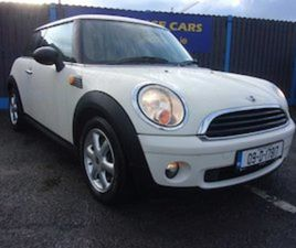 MINI ONE, 2009 LOW MILEAGE AND SERVICE HISTORY FOR SALE IN DUBLIN FOR €5950 ON DONEDEAL