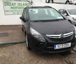 OPEL ZAFIRA E 20 CDTI 130PS 5DR FOR SALE IN CORK FOR €12400 ON DONEDEAL