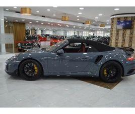PORSCHE 911 TURBO S CABRIO(581CV)PDK, AERO KIT A GASOLINA NA AUTO COMPRA E VENDA