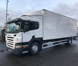 08 SCANIA P230 18 TON BOX WITH LIFT FOR SALE IN ARMAGH FOR €1 ON DONEDEAL