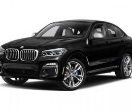 BRAND NEW BLACK COLOR 2020 BMW X4 M40I FOR SALE IN HUNTINGTON STATION, NY 11746. VIN IS 5U