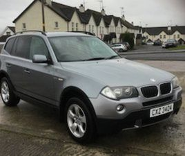 BMW X3 2.0 DIESEL 4X46 SPEED MANUEL FULL YEARS MOT FOR SALE IN DOWN FOR £2950 ON DONEDEAL