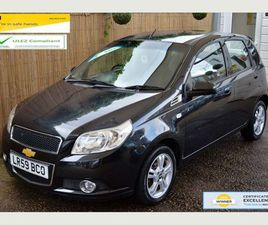 CHEVROLET AVEO 1.4 LT 5DR6 MONTHS WARRANTY INCLUDED