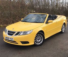 SAAB 9-3 1.9 TID LINEAR SE 2DRSTUNNING AND RARE COLOUR CABBY