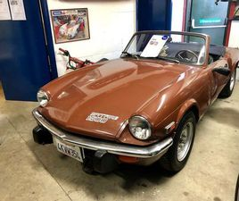 TRIUMPH SPITFIRE 1.5 2DRFULL SERVICE HISTORY LHD