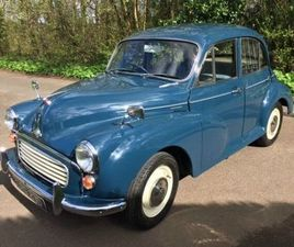 MORRIS MINOR 1000 BLUE 1966