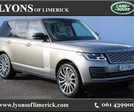 LAND ROVER RANGE ROVER FREE NATIONWIDE DELIVERY FOR SALE IN LIMERICK FOR €162950 ON DONEDE