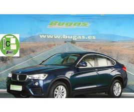 BMW X4 2.0 D 190 CV XDRIVE C.LEVAS BERLINA MEDIANA O GRANDE DE SEGUNDA MANO EN PONTEVEDRA