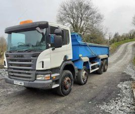 2008 SCANIA P340 8X4 TIPPER MANUAL. REF NO: 2143 FOR SALE IN MONAGHAN FOR € ON DONEDEAL