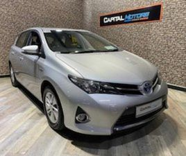 TOYOTA AURIS ICON 1.8 VVT-I HYBRID AUTO CAR NUM FOR SALE IN DUBLIN FOR €12950 ON DONEDEAL