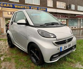 2014(14) - SMART FORTWO 1.0 GRANDSTYLE EDITION AUTO CONVERTIBLE