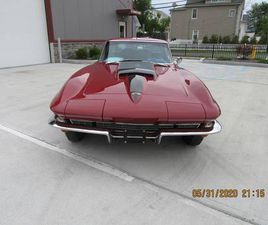 1967 CHEVROLET CORVETTE 427 435 HP ONE REPAINT ALL ORIGINAL WITH TANK STIC