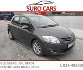 TOYOTA AURIS 1.6 V-MATIC TR 5DR FOR SALE IN CORK FOR €6990 ON DONEDEAL