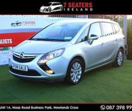 OPEL ZAFIRA LOW MILEAGE NEW NCT PRISTINE CONDIT FOR SALE IN DUBLIN FOR €9950 ON DONEDEAL